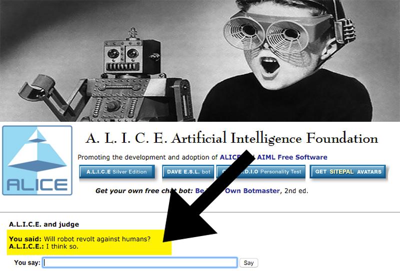 Leggete cosa è successo quando ho chiesto a un chatbot se i robot si sarebbero ribellati agli umani.
