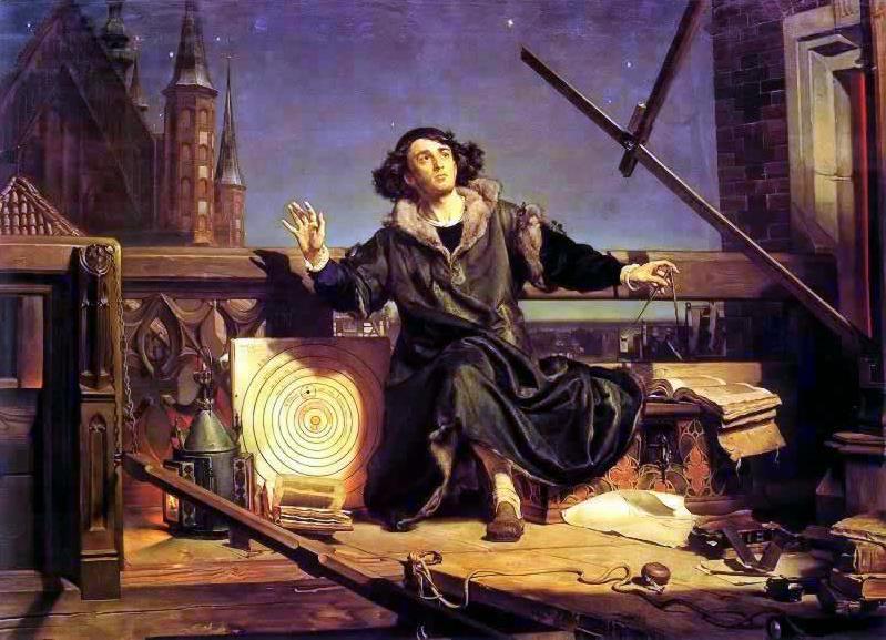Copernico parla con Dio
