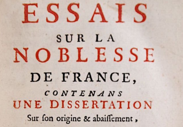 h-1200-boulainvilliers_comte-de_essais-sur-la-noblesse-de-france-contenans-une-dissertation-sur-son-origine-_1732_edition-originale_1_48363