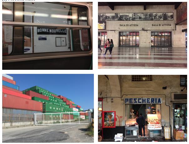 Genova, Firenze, Parigi (foto dell'autrice)