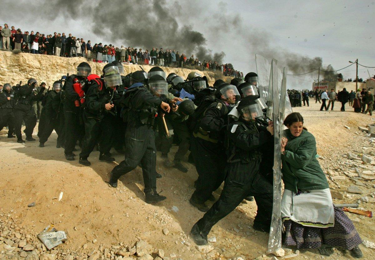 Est della città palestinese di Ramallah, 2006. Oded Balilty
