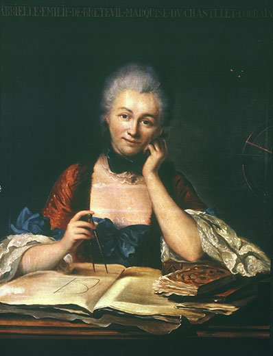 Emilie du Chatelet (1706 – 1749)