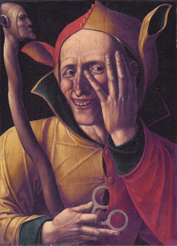 Laughing jester *47 X 37 cm *1500s