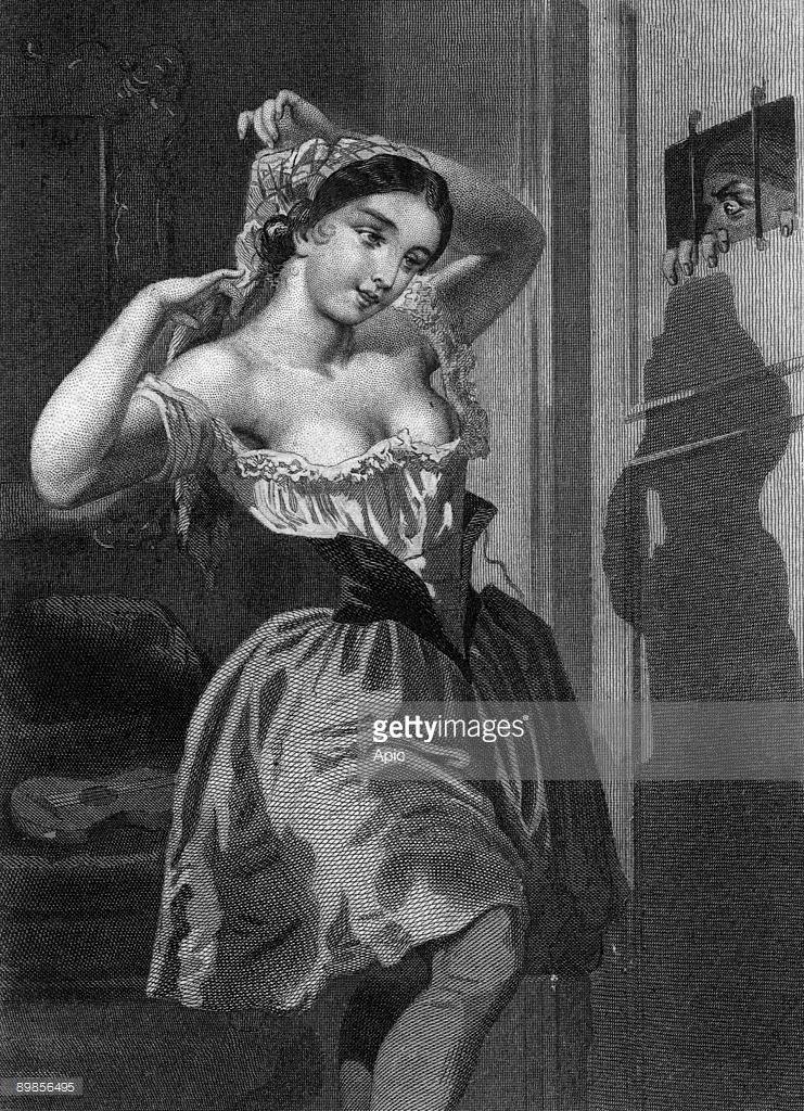 Illustration du livre Les mysteres de Paris par Eugene Sue Second Volume 1851 ici Cecily la creole chez le notaire Ferand