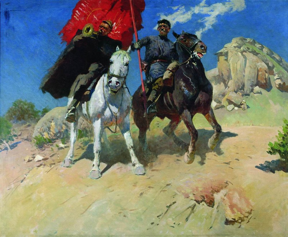 Un'opera di Mitrovan Grekov