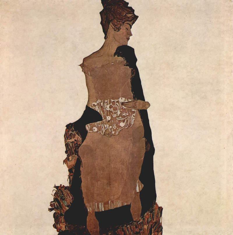 Egon Schiele, Gertrud Schiele, 1909