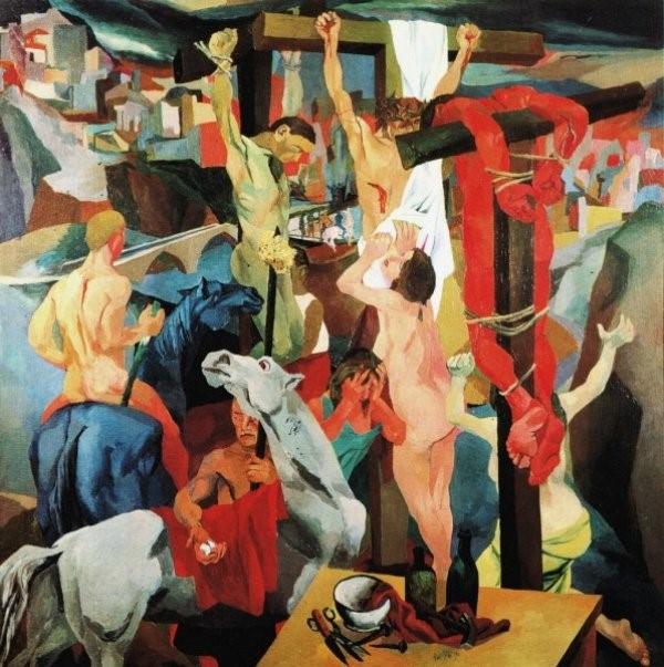 Renato Guttuso, La Crocifissione, 1941