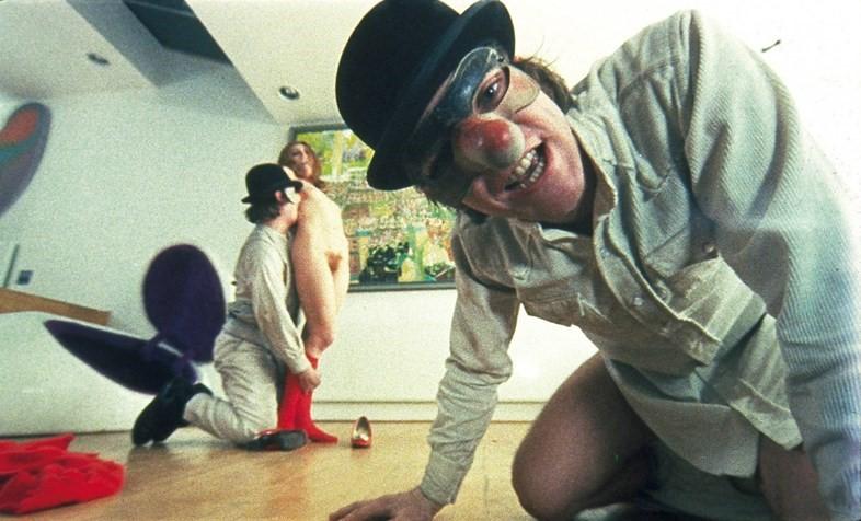 Scena di stupro da A Clockwork Orange (1971) di Stanley Kubrick