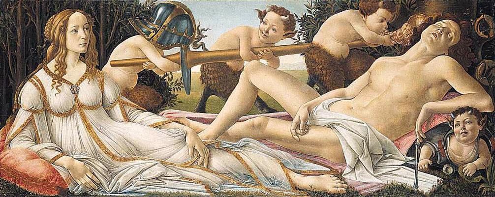 Sandro Botticelli, Marte e Venere (1482-83)
