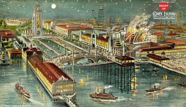 Dreamland di Coney Island (1904-11)