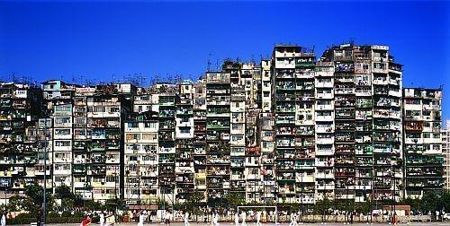 Cartolina dallo junkspace. La città murata di Kowloon (ora distrutta)