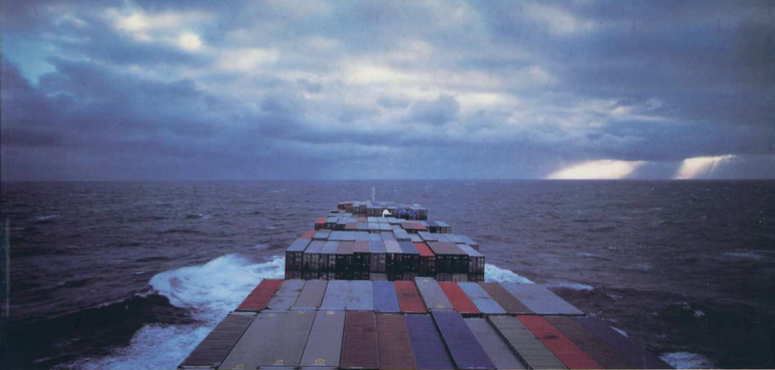Conclusion of search of the disabled and drifting sailboat. Happy ending - Allan Sekula, Fish Story, 2002